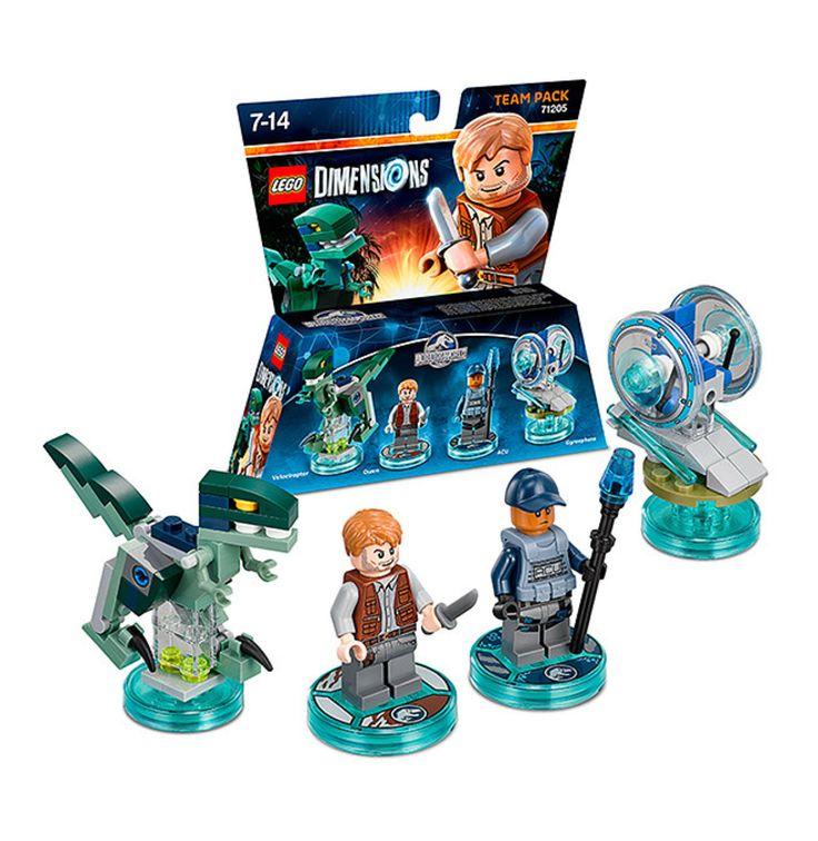 LEGO Dim 1:Team: Jurassic: Owen & Tee