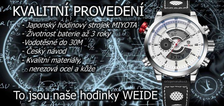 Kvalitní provedení www.orlojenaruku.cz
