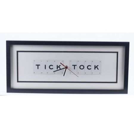 Vintage Playing Cards - Tick Tock Clock