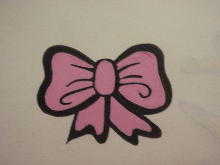 bow tattoo designs | Pink bow tattoo design by ~PinkHayzSkullCrazy on deviantART
