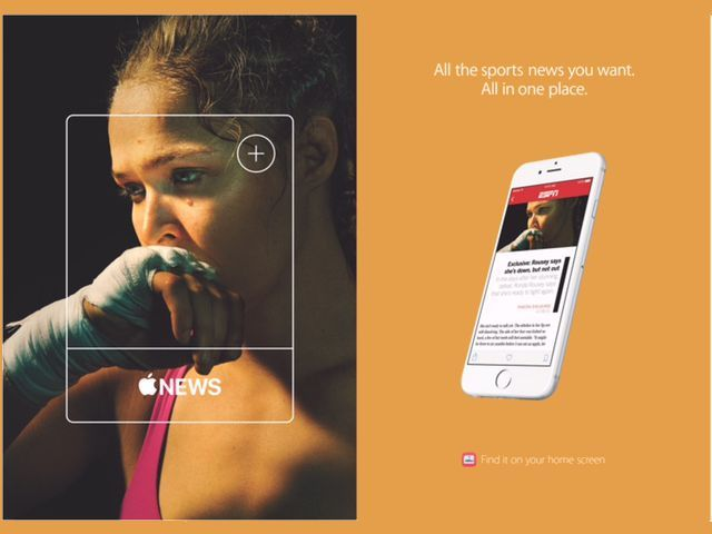Apple Launches New Ad Campaign for Apple News [Images]