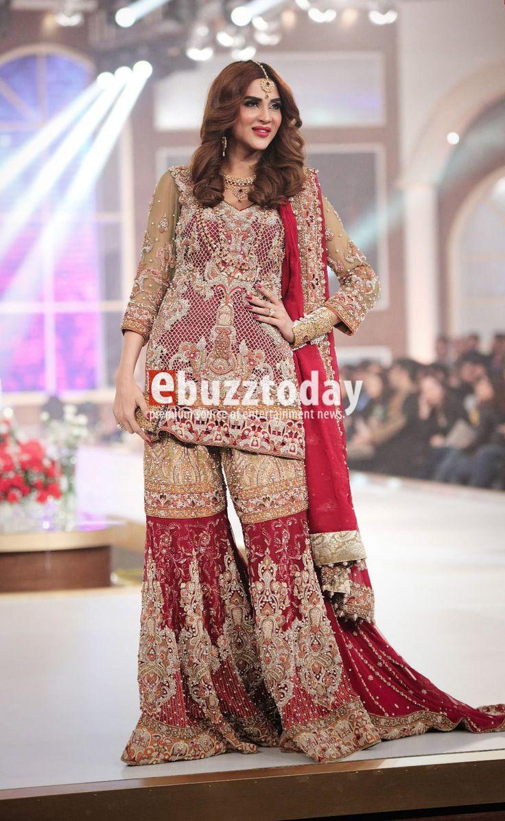 Shazia Kiyani at Telenor Bridal Couture Week 2015