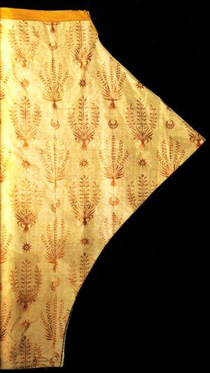 Pair of everyday silk shalvar from the Topkapi Palace Museum.