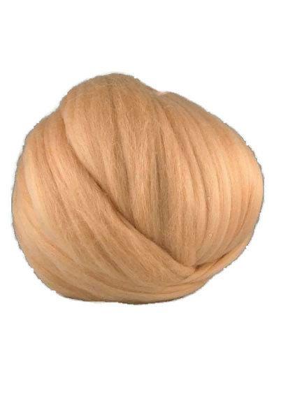 Merino wool 19 microns ,Colour: Dune