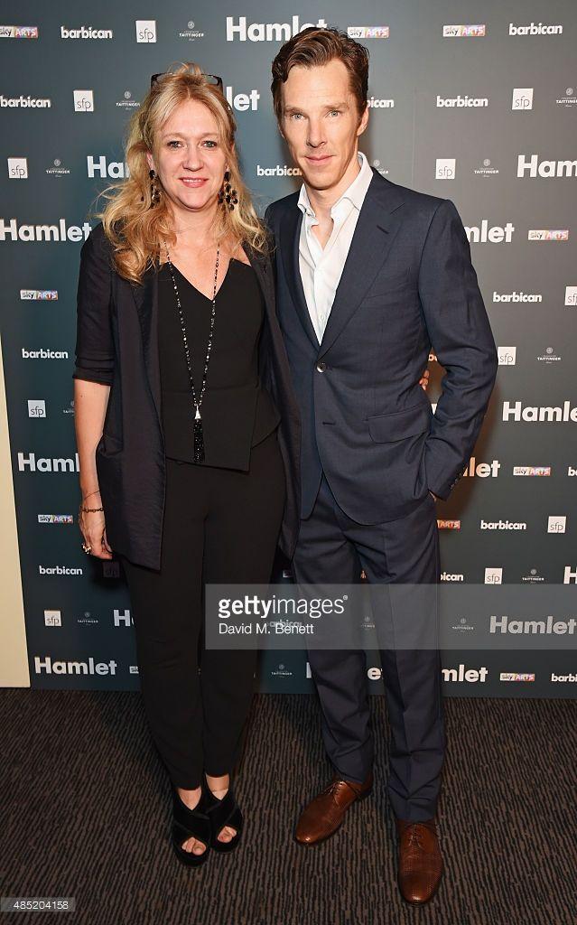 ニュース写真 : Producer Sonia Friedman and cast member Benedict...
