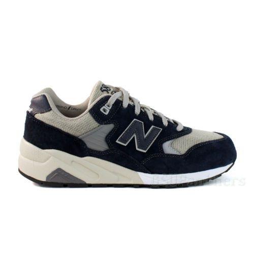 New Balance REVlite 580 MRT580NV Navy Cream White Men 039 s Shoes Sz 8 13 | eBay