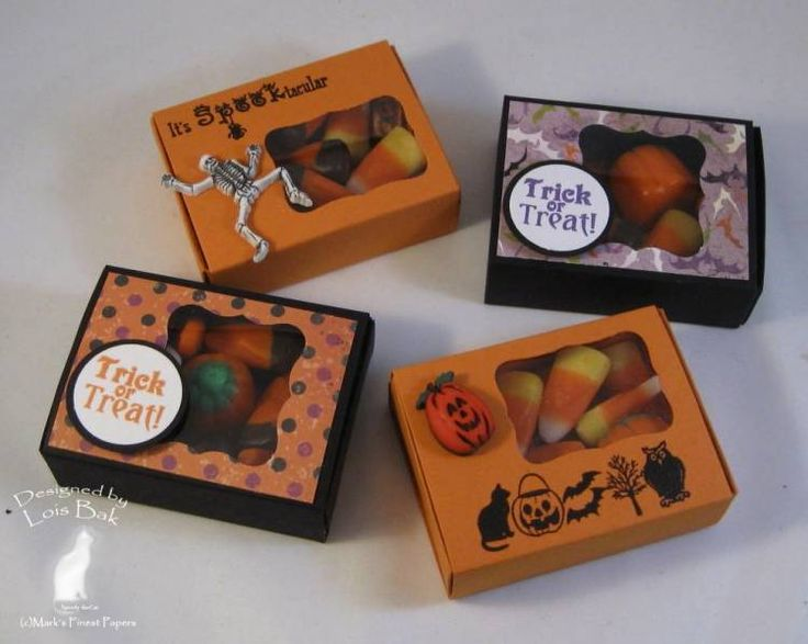 Halloween Treat Boxes_lb by Clownmom - Cards and Paper Crafts at Splitcoaststampers