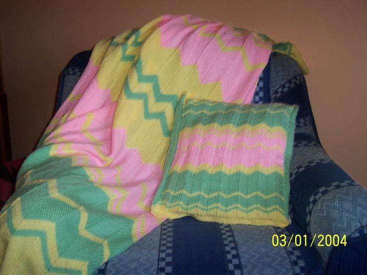 patura si perna tricotate