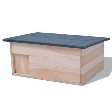 vidaXL.co.uk | vidaXL Hedgehog House 45x33x22 cm Wood