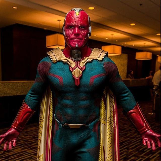 Vision From Marvel Halloween costume