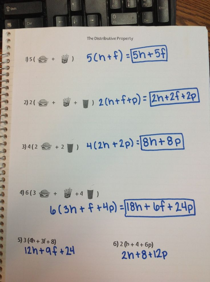17 best images about Math 6 Equivalent Expressions ...