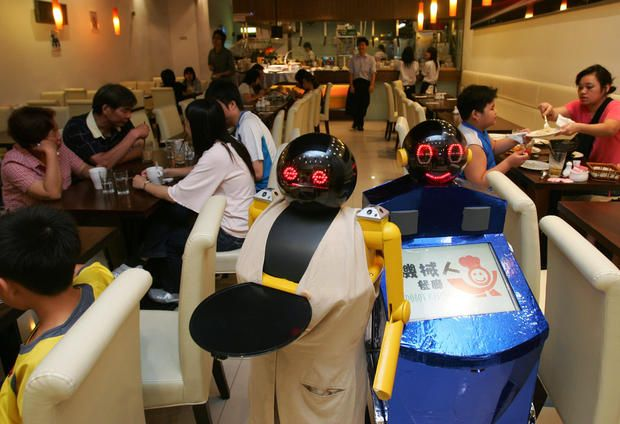 Robot Kitchen - Rise of the machines - Pictures - CBS News