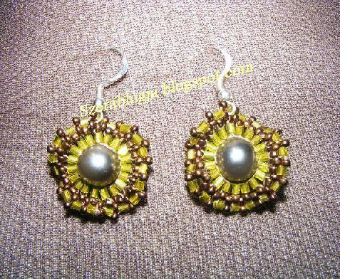 Hazel Iris Earrings