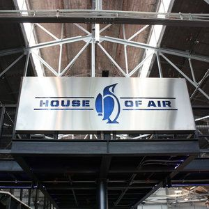 House of Air -trampoline house!