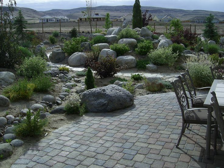 17 best images about garden park like yards on pinterest parks cheap fence ideas and pets - Mountain garden landscaping ideas ...