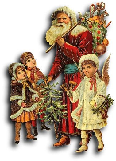 Victorian scrap: Christmas by Antique Photo Album, via Flickr