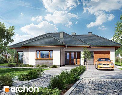 """Check out new work on my @Behance portfolio: """"Projekt Domu w rawanach""""…"""