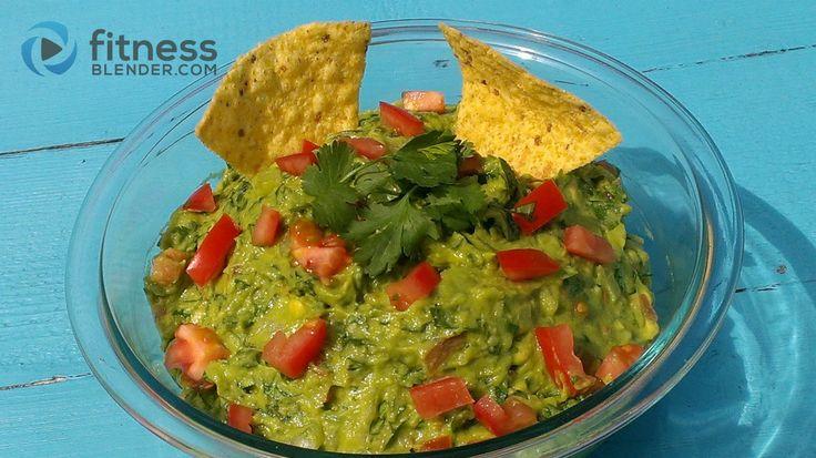 Healthy, Easy Guacamole Recipe | Fitness Blender-https://www.fitnessblender.com/blog/healthy-easy-guacamole-recipe