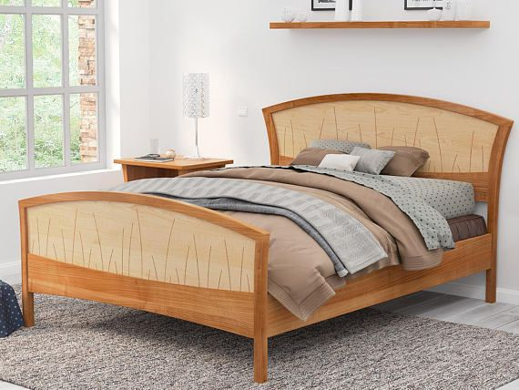 Solid Wood Bed Frame Queen King Or California King Handmade