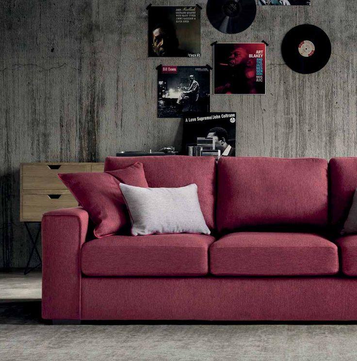 Un divano dall'anima Jazz... #LaCasaModerna #Design #Sofas ● lacasamoderna.com
