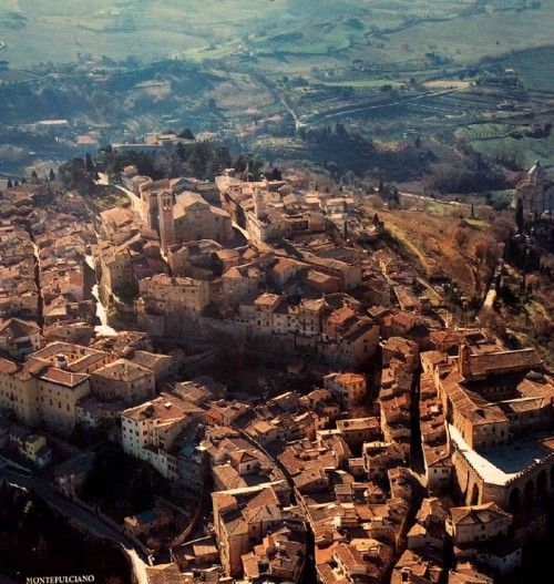 Montepulciano is wonderful all year round but best in late spring and early summer