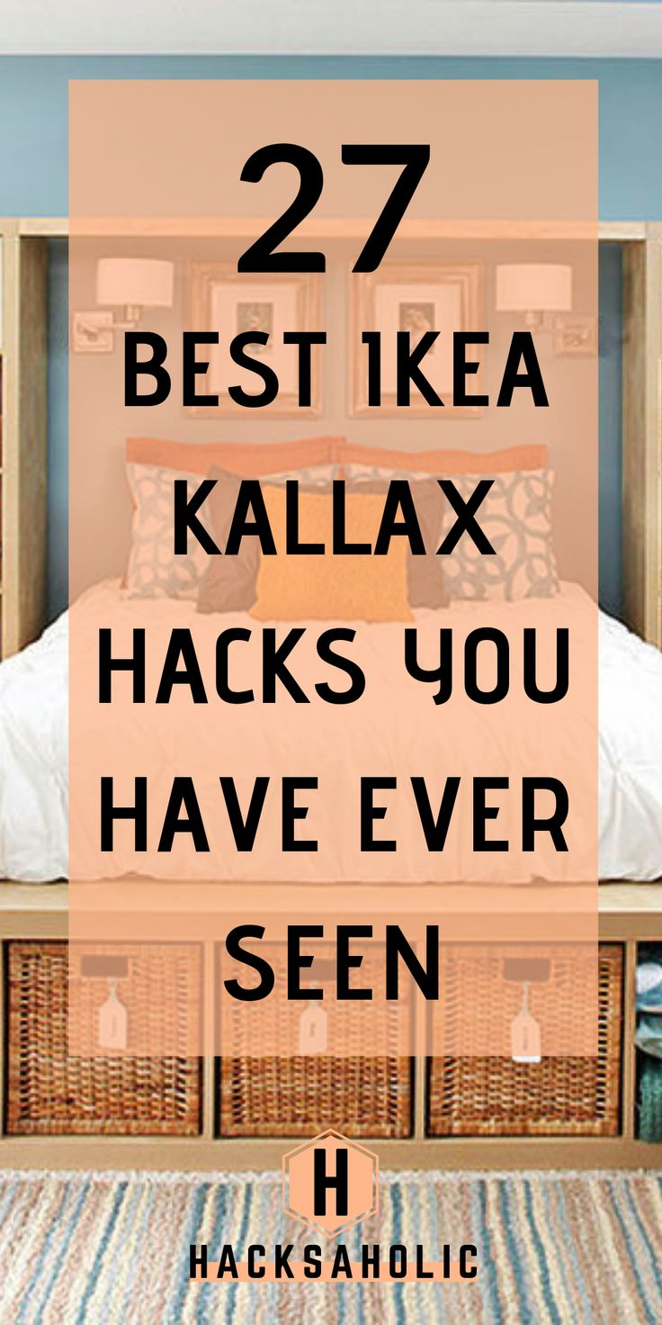 There are so many great Ikea Kallax hacks out ther…