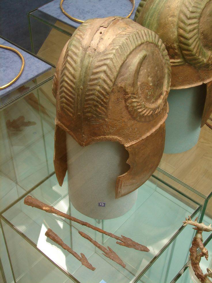 Шлем. Бронза. II в. до н.э. Краснодарский край. Helmet. Bronze. 2nd c. BC. Krasnodarsky kray.