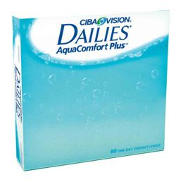 Soczewki Dailies AquaComfort Plus 90szt.