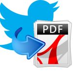 Cómo crear un documento PDF con un hashtag, menciones, tweets…