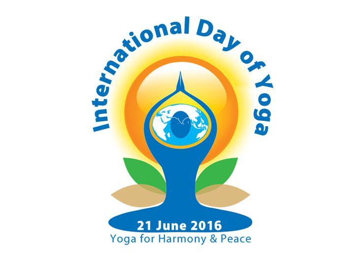 Logo for the International Day of Yoga - 21 June 2015