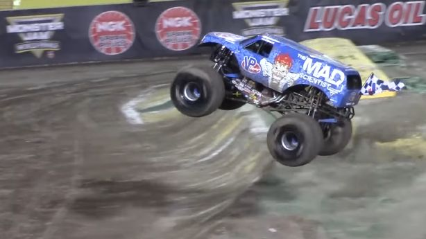I'm not a monster truck rally guy, but if this kind of stuff happens a lot, maybe I should be.