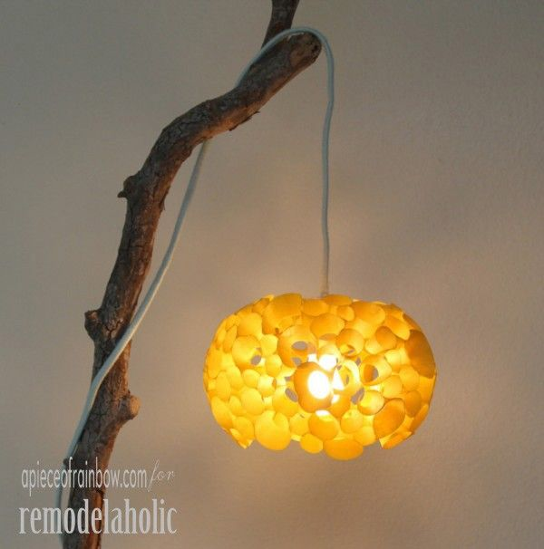 Make a Coral Inspired Lamp