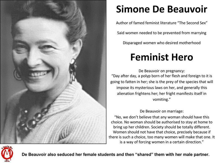 Simone de Beauvoir on 'The Woman in Love' by Bridget Allan