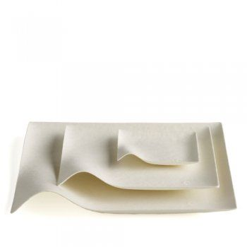 Kaku By Wasara, ecofriendly tableware, product is made from Post Consumner product, it can then be recycled after use.