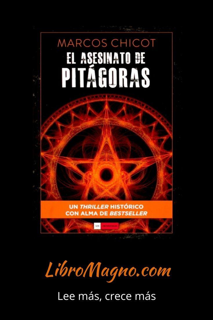 """#RecomiendoLeer """"El Asesinato de Pitágoras"""" de Marcos Chicot Mira la reseña de este #libromagno aquí http://www.libromagno.com/2013/12/el-asesinato-de-pitagoras-marcos-chicot.html"""