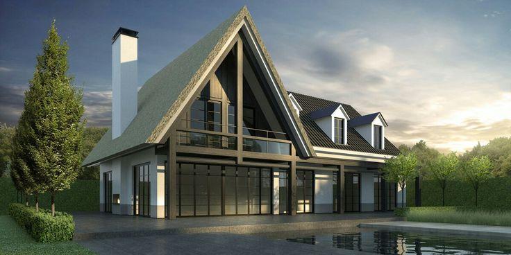 Meer dan 1000 afbeeldingen over huis op pinterest - Eigentijds trap beton ...