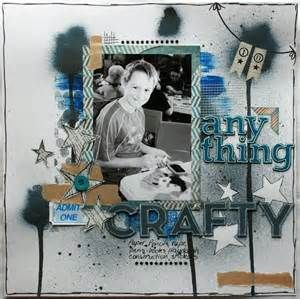 masculine scrapbook layouts - Bing Images
