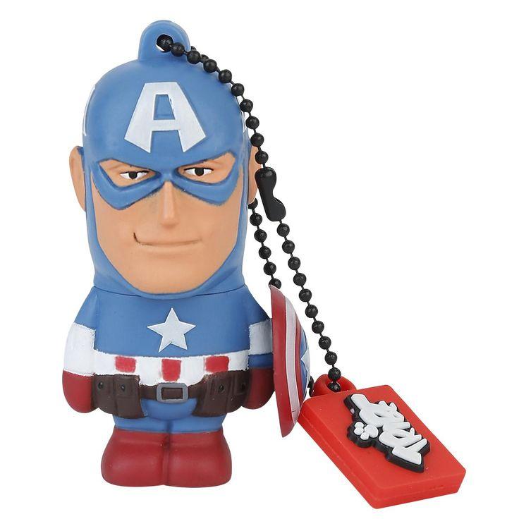 Chiavetta #CaptainAmerica USB 2.0, 8 GB.