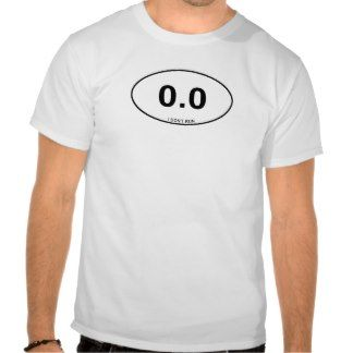 0.0 Non Runner Tee Shirts