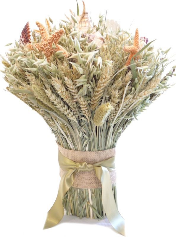 34 best images about decorative wheat on pinterest for Wheat centerpieces