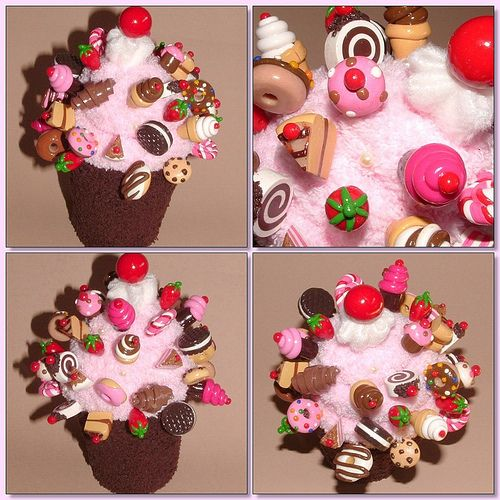 Sewing pins from polymer clay - wow!!