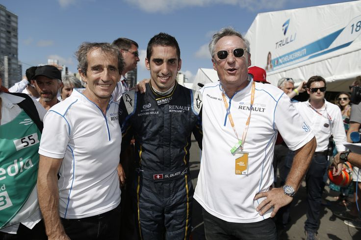 edams Renault FIA Formula e Punta Del Este - Alain Prost - Sebastien Buemi - Jean-Paul Driot