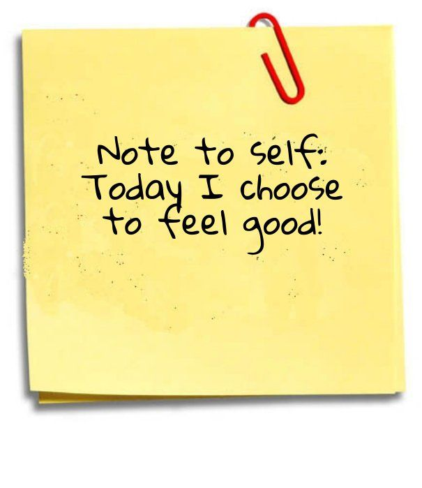note to #self! #feel #goodmorning