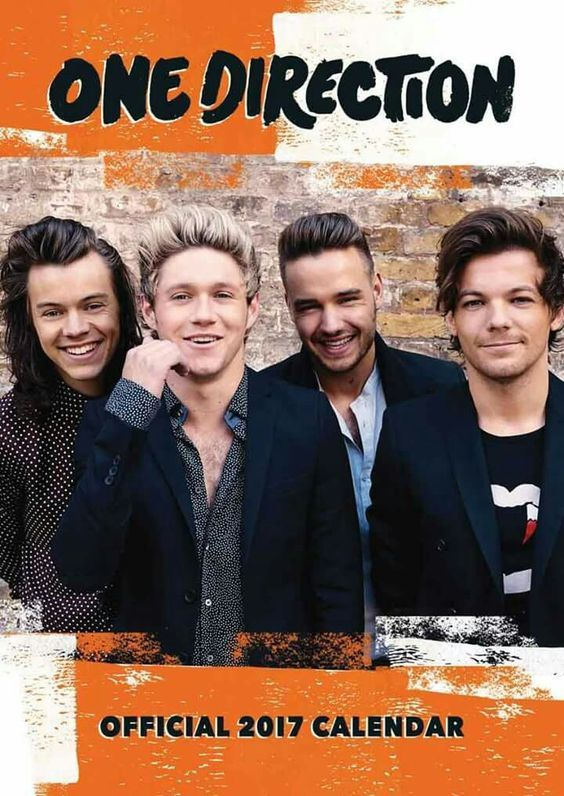 One Direction: Calendario 2017