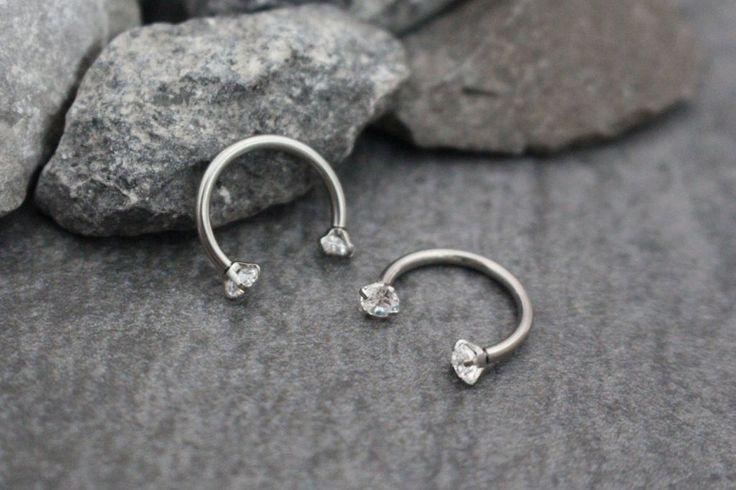 Swarovski Daith Piercing Jewelry at MyBodiArt