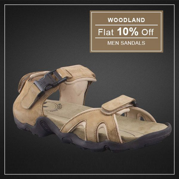 Keep the style on your feet with our #woodland #Sandals #Shoes
