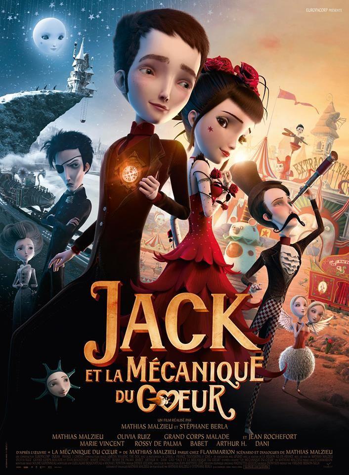 Jack et la Mécanique du Coeur : affiche et clip de Dionysos