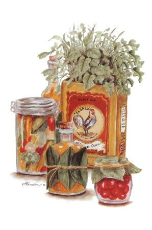 Herbs & Oils #2 (Consuelo Gamboa)