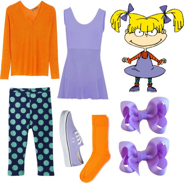 Angelica rugrats costume