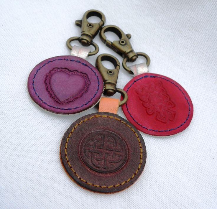 Porte clés à motif M